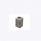 1/2 Bloco de concreto 11,5x19x11,5