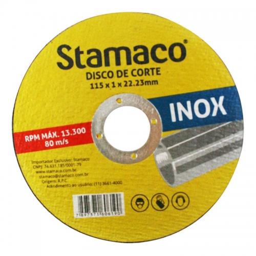 Disco de Corte para Inox 115x 1.0x 22.23mm