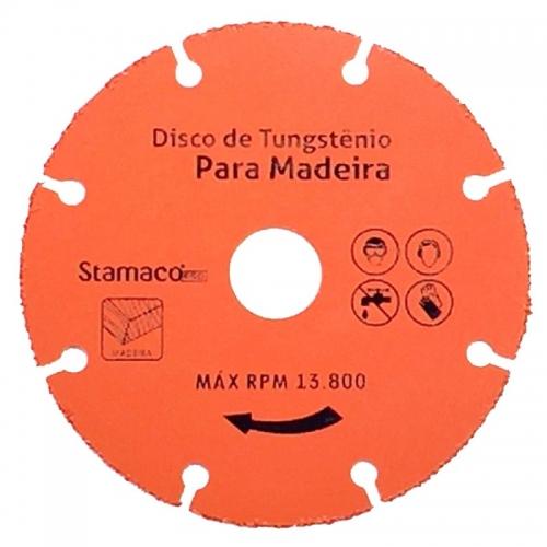 """Disco Tungstênio para Madeira 4 3/8"""" 110mm"""