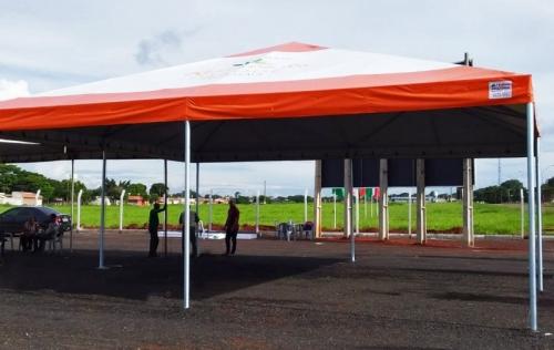 Tenda Piramidal 10X10