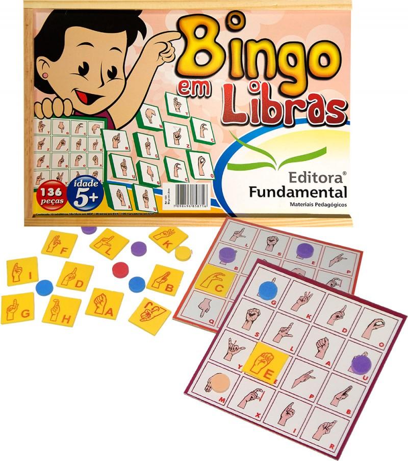 Bingo em Libras